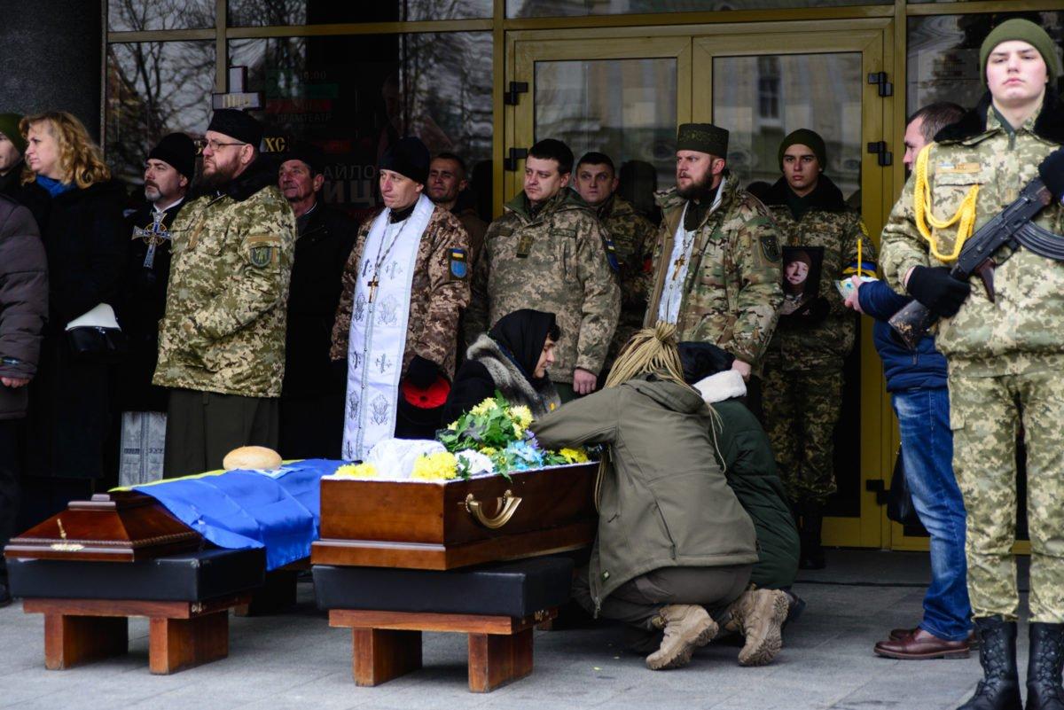 На Волині прощаються із загиблим військовим Миколою Сорочуком