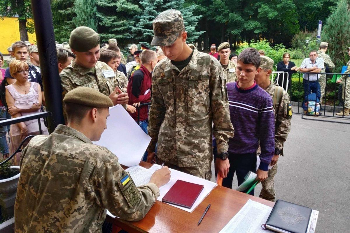 Цього року збільшено набір першокурсників до Національної академії сухопутних військ