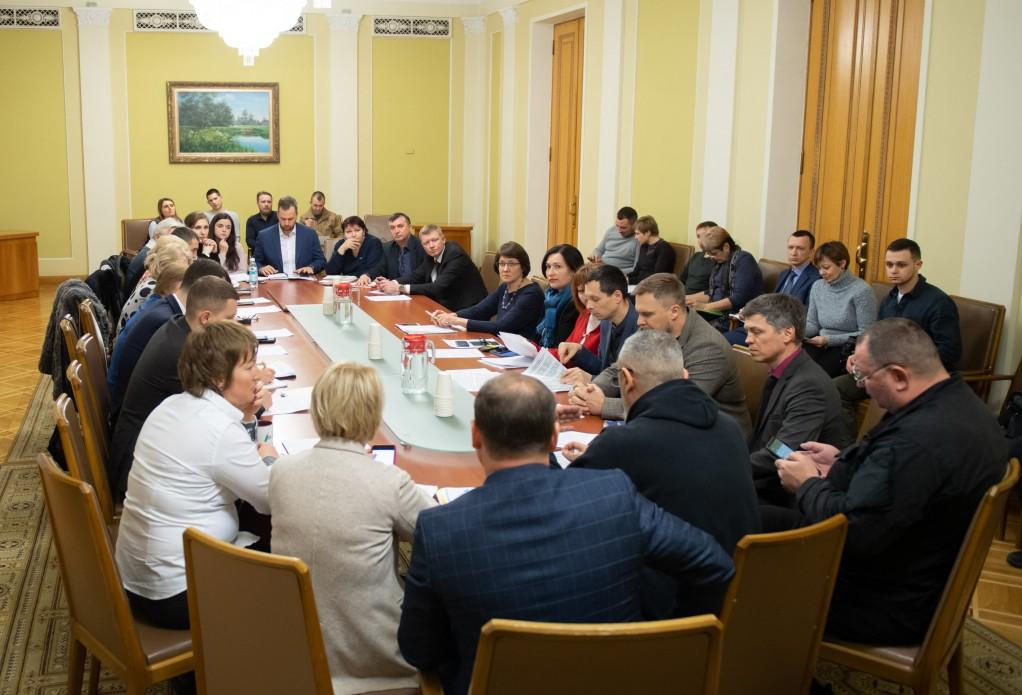 В Офісі Президента обговорили створення Комісії з розшуку зниклих безвісти