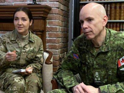 Командувач Сухопутних військ Збройних сил Канади генерал-лейтенант Уейн Д. Ейр:  «Серед місій та операції, які проводить Канада у світі, в Україні – одна з найважливіших!»