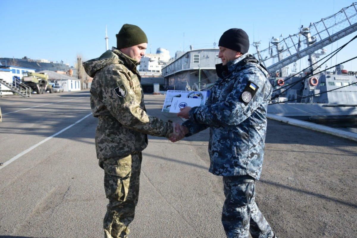 У ВМС ЗС України відбувся випуск військовослужбовців, які здобули нові спеціальності у Водолазній школі
