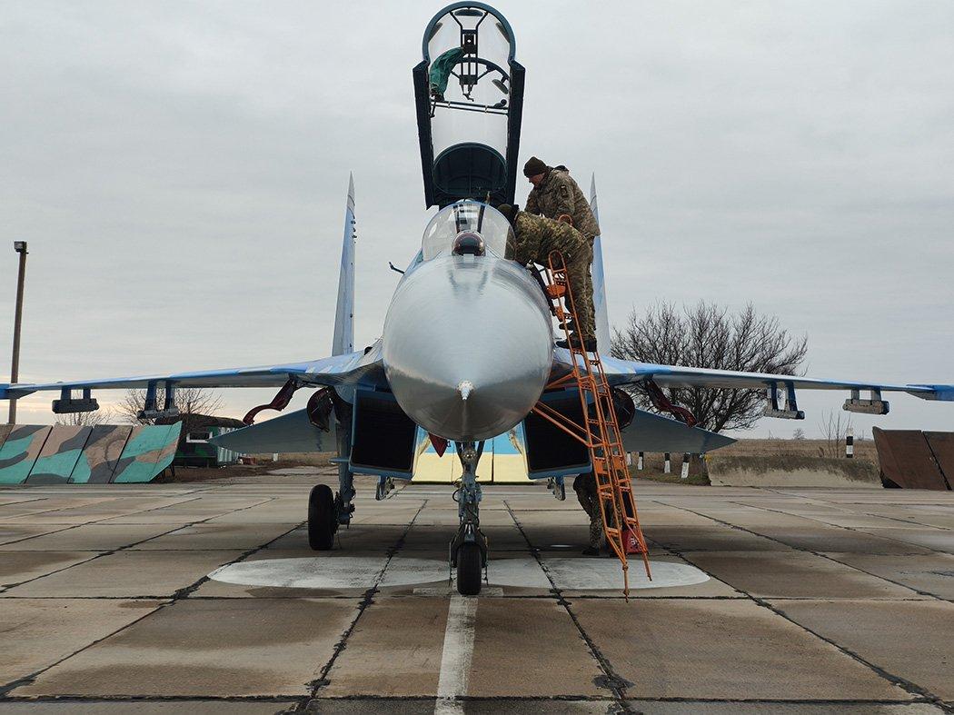 Модернізований винищувач Су-27УБ поповнив авіапарк Повітряних Сил