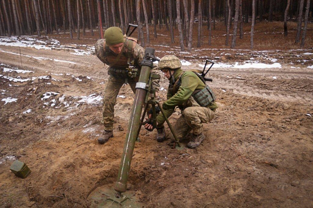 Десантники претендують на найкращий мінометний розрахунок ООС