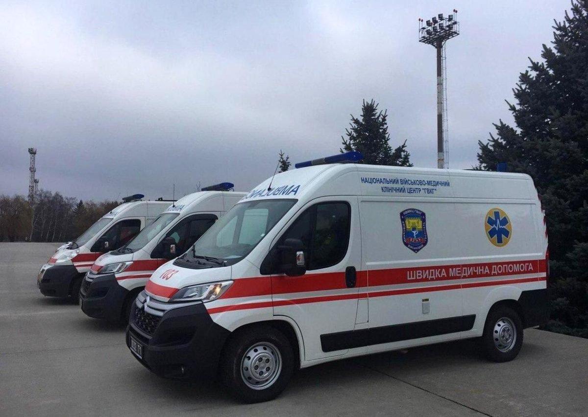 Київський військовий госпіталь прийняв з Харкова шість поранених на фронті воїнів