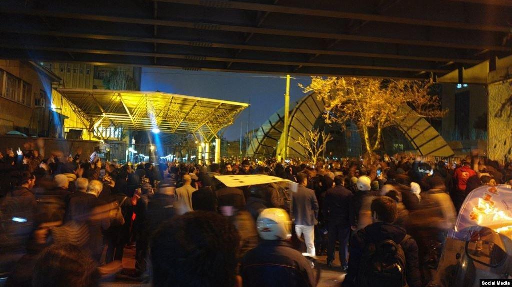 У Тегерані демонстранти вимагали суду над винними у збитті українського літака