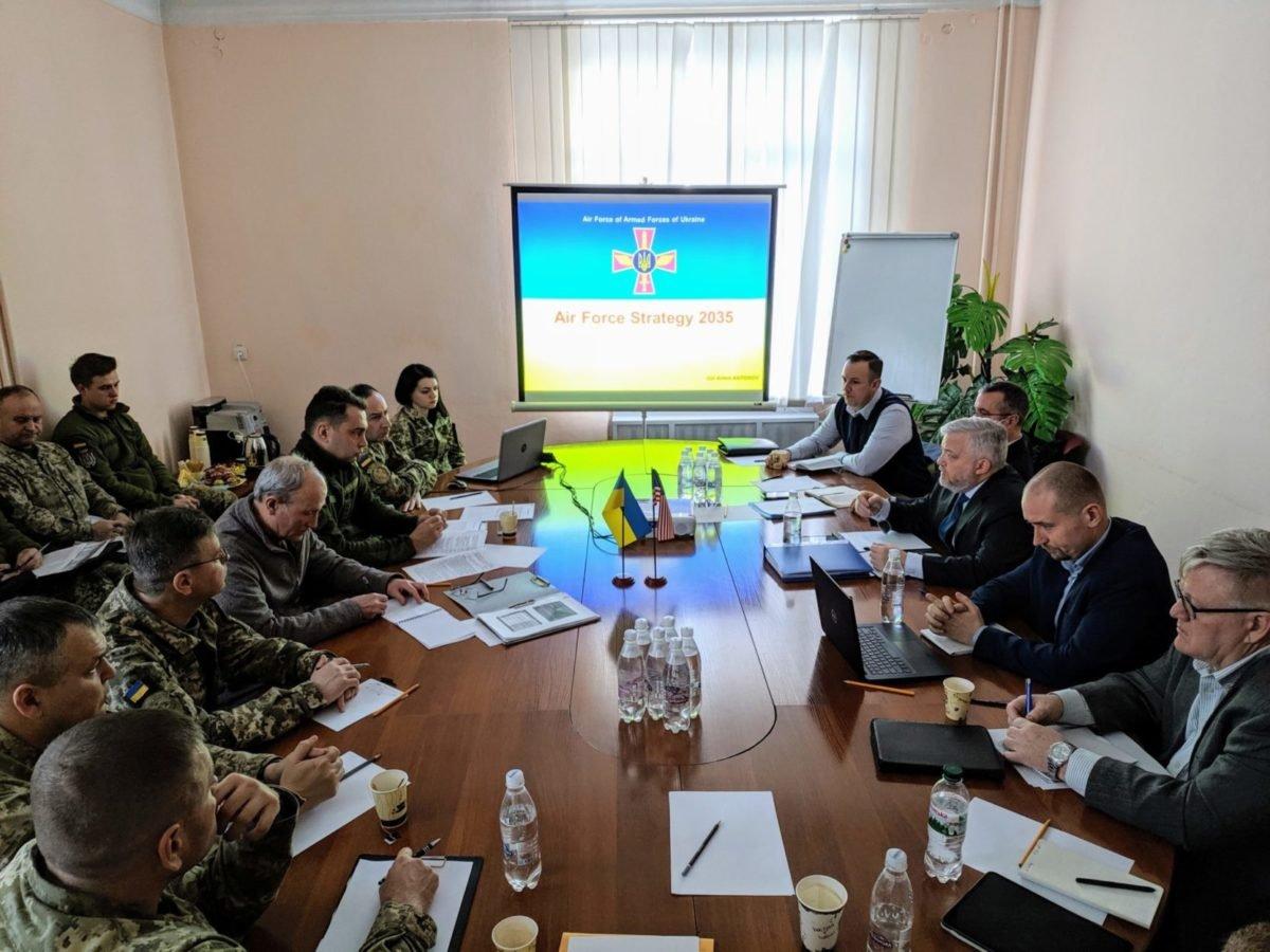 Стратегію розвитку Повітряних Сил до 2035 року розробляють з урахуванням досвіду країн-членів НАТО
