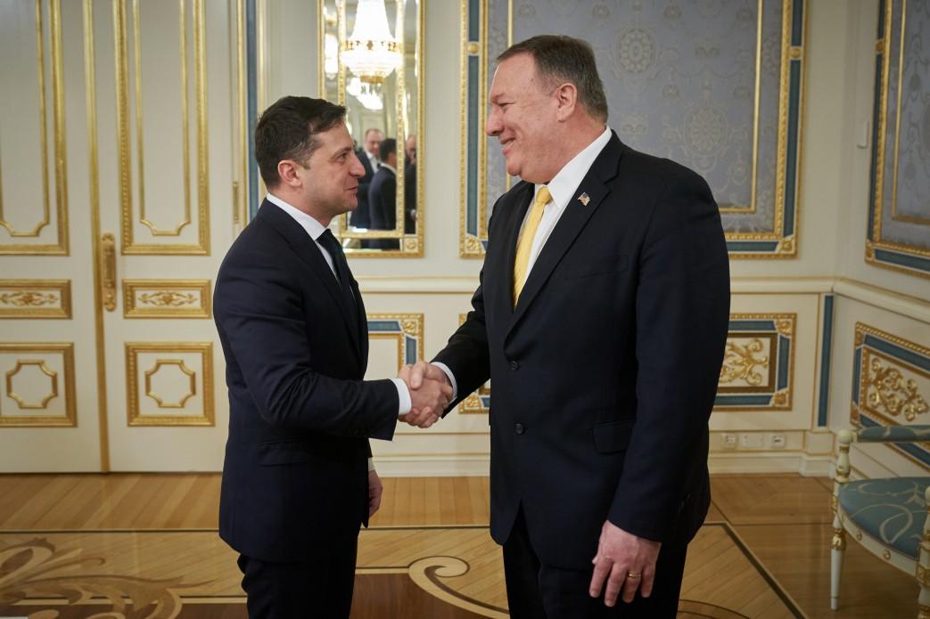 Президент України зустрівся з Державним секретарем США