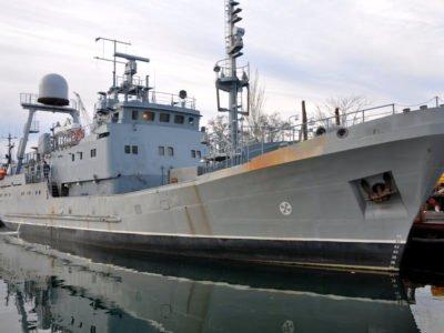 В Одесі вийшов в море майбутній корабель Військово-Морських Сил