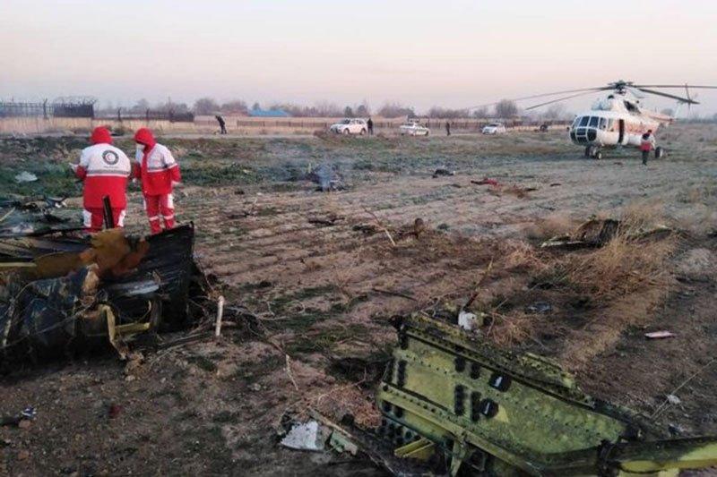 В Ірані розбився український пасажирський літак