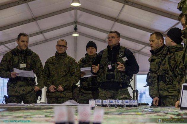 Українські офіцери у складі багатонаціональної дивізії проводять інформаційні операції