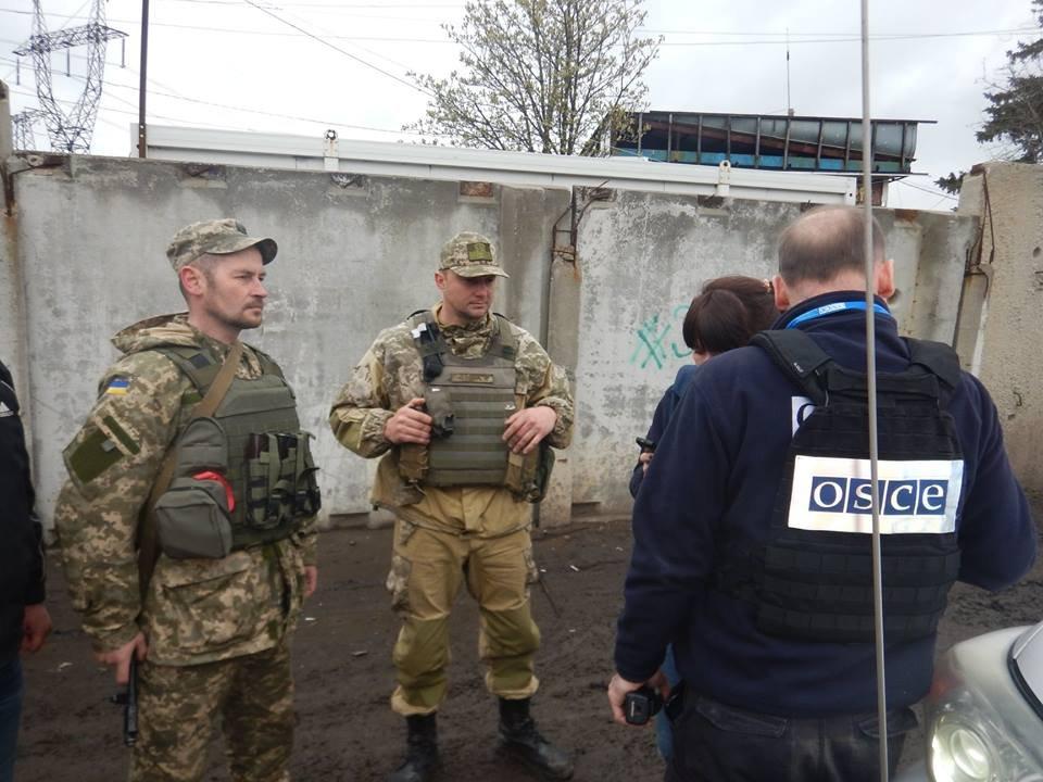 СЦКК: озброєння окупантів розміщене з порушенням ліній відведення