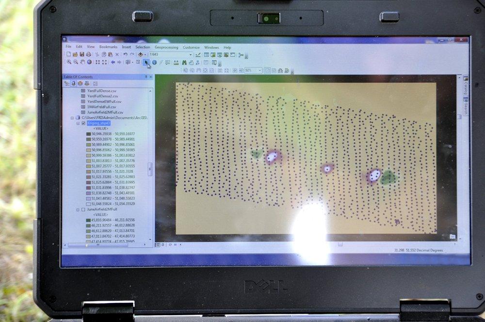 Український дрон здатний виявляти міни з точністю до сантиметра