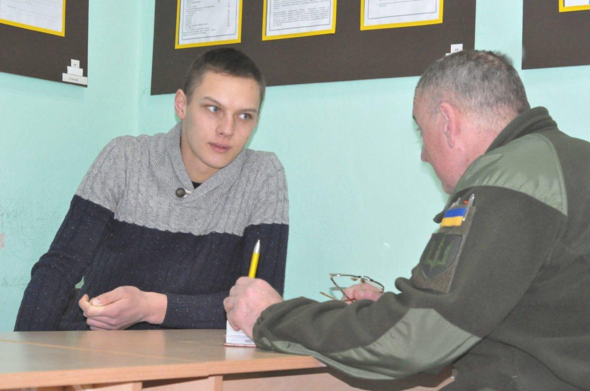 Чернівецький військкомат розпочав призовний рік з контрактників