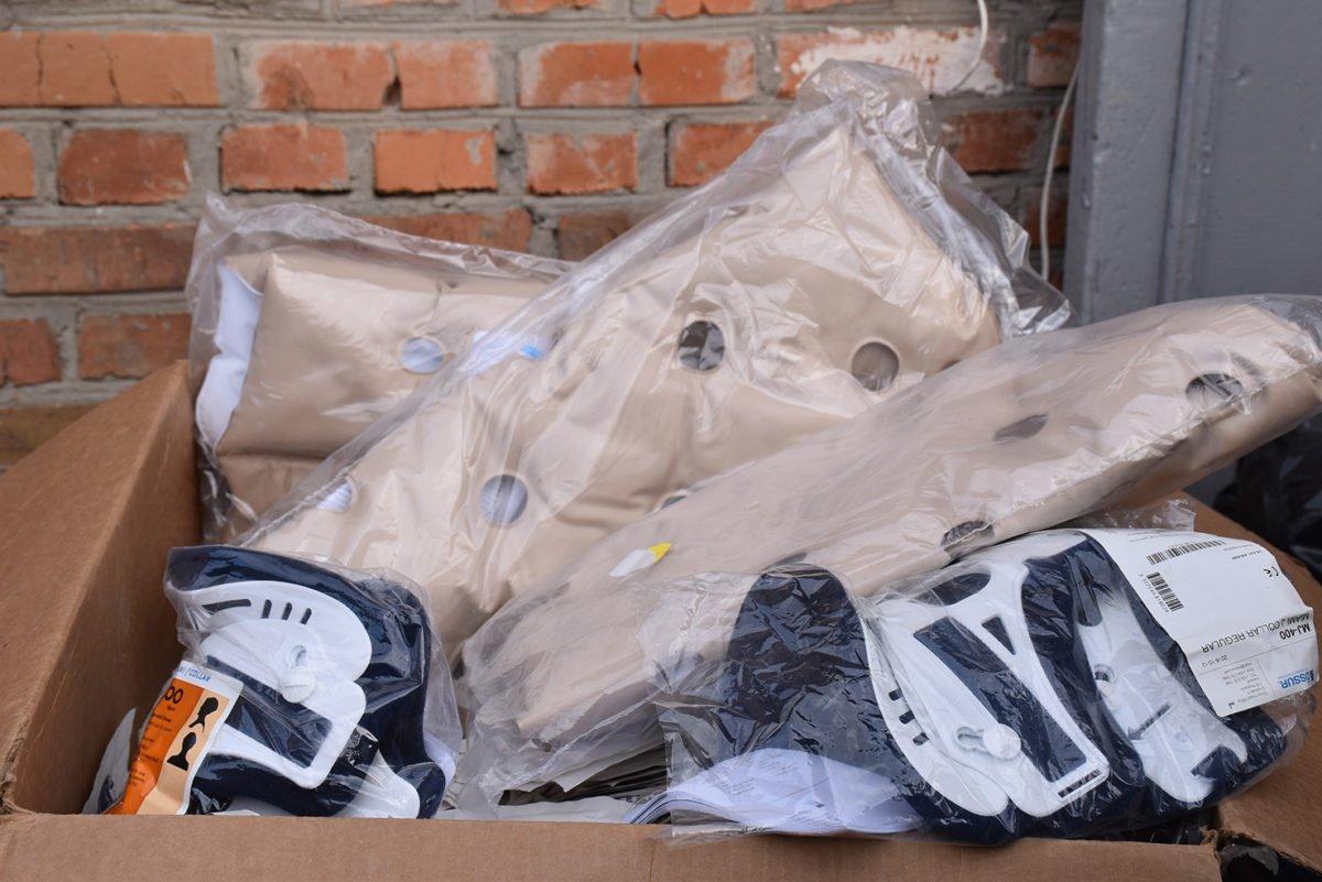 12 тонн «гуманітарки» від вінничан та бірмінгемців — на передову