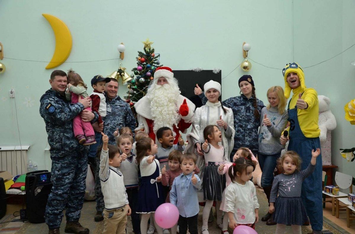 Військові влаштували справжнє свято для дітей-сиріт