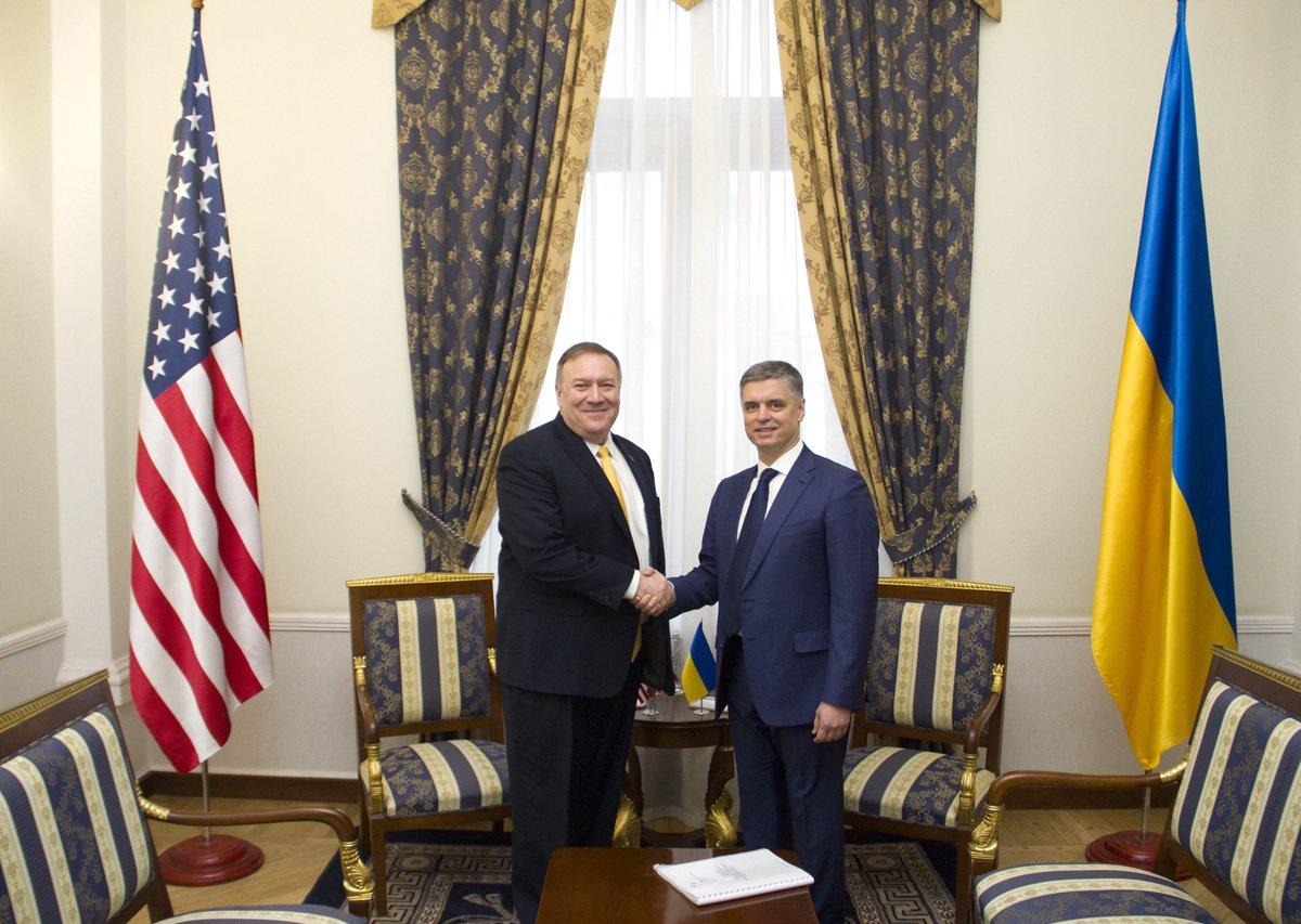 Пристайко та Помпео домовилися про поглиблення стратегічного партнерства України та США