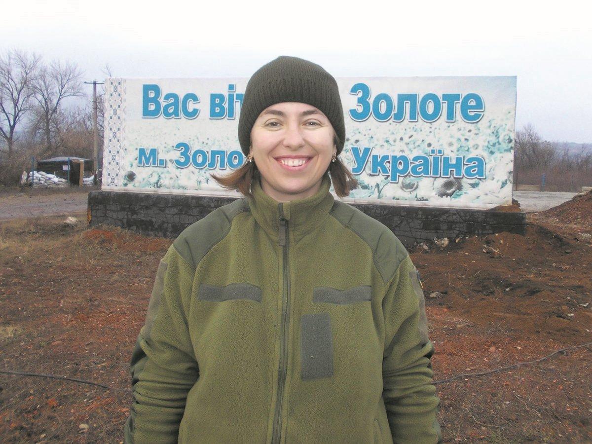 Дочекавшись сина з війни, волонтер Ольга Чудна пішла у військо