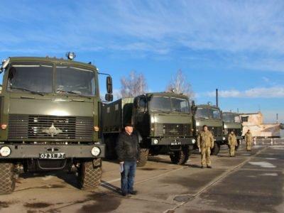 Майже 20 кілотонн боєприпасів перевезли у 2019 році автомобілісти частин Повітряних Сил
