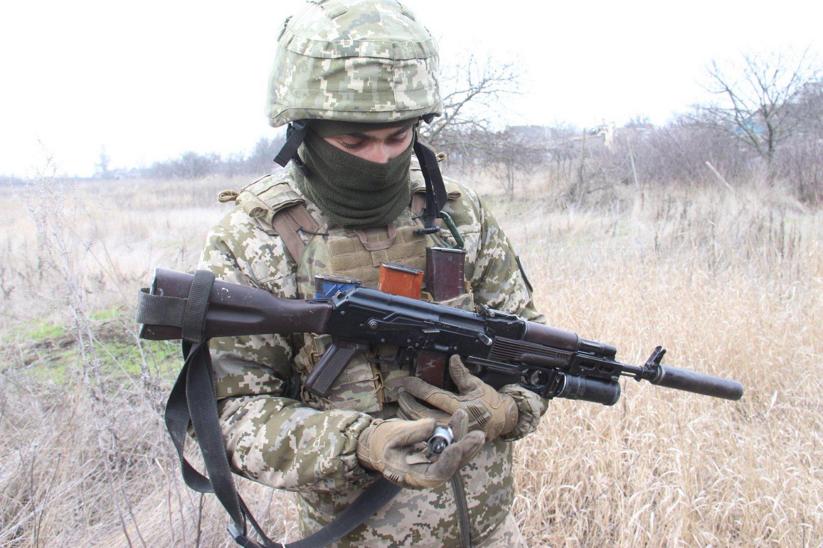 Армійці Об'єднаних сил знищили ворожий безпілотник