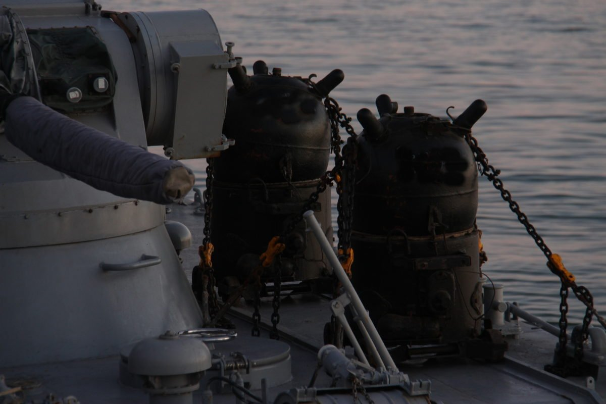 Мінні поля для ворожого морського десанту