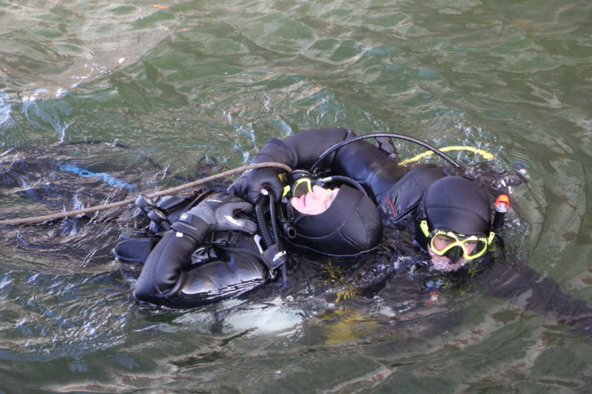 Американські водолази перевірили підготовку українських колег