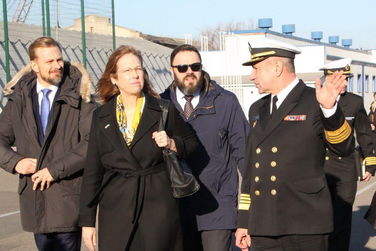 Українські військові моряки та представники США обговорили співпрацю