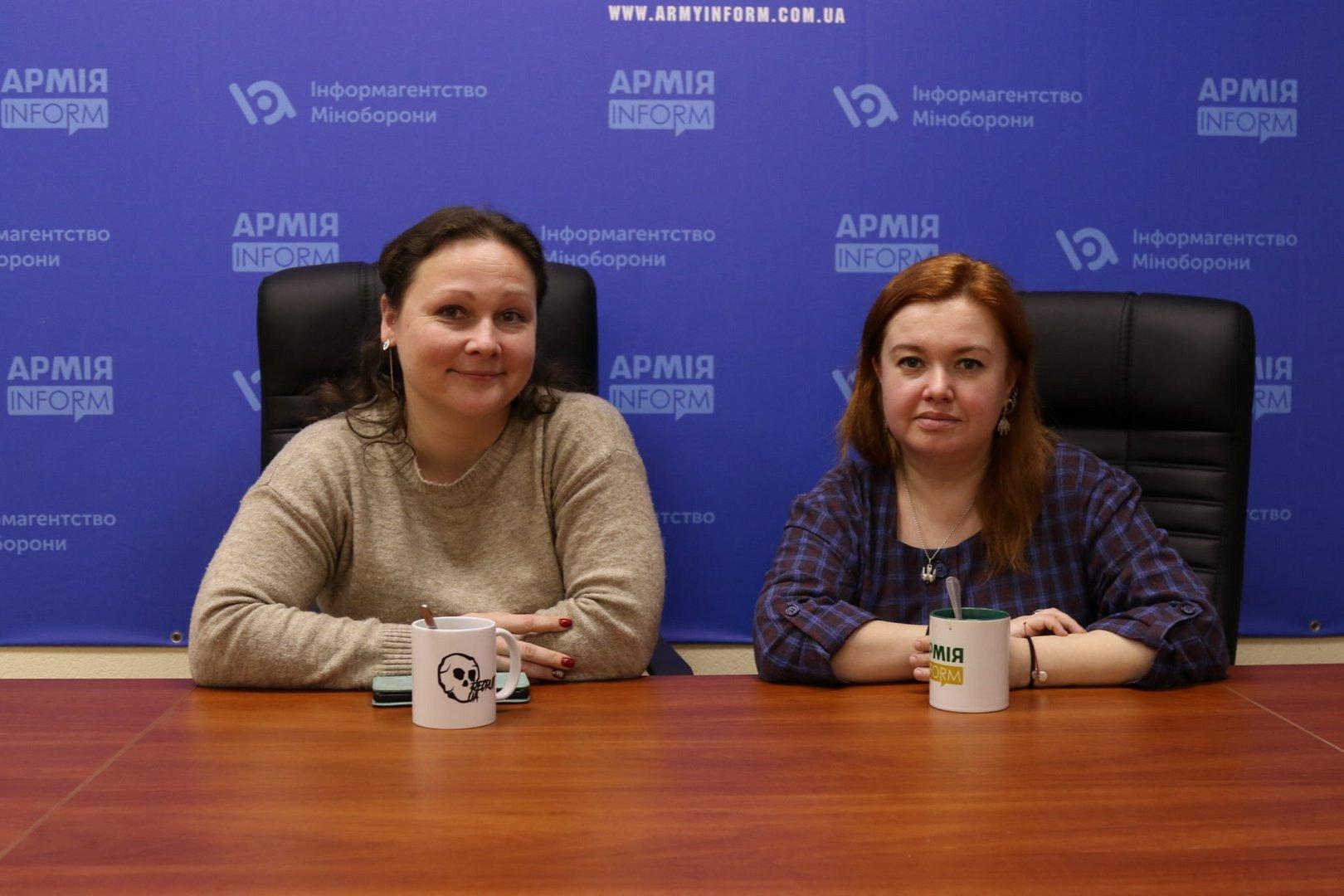 Ганна Скоріна та Марина Рябченко: ветеранська література — це правда про війну та можливість подивитися на своє життя під іншим кутом