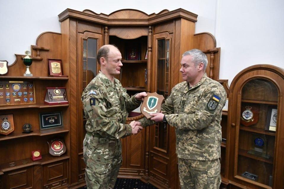 Генерал-лейтенант Сергій Наєв провів робочу зустріч з делегацією НАТО