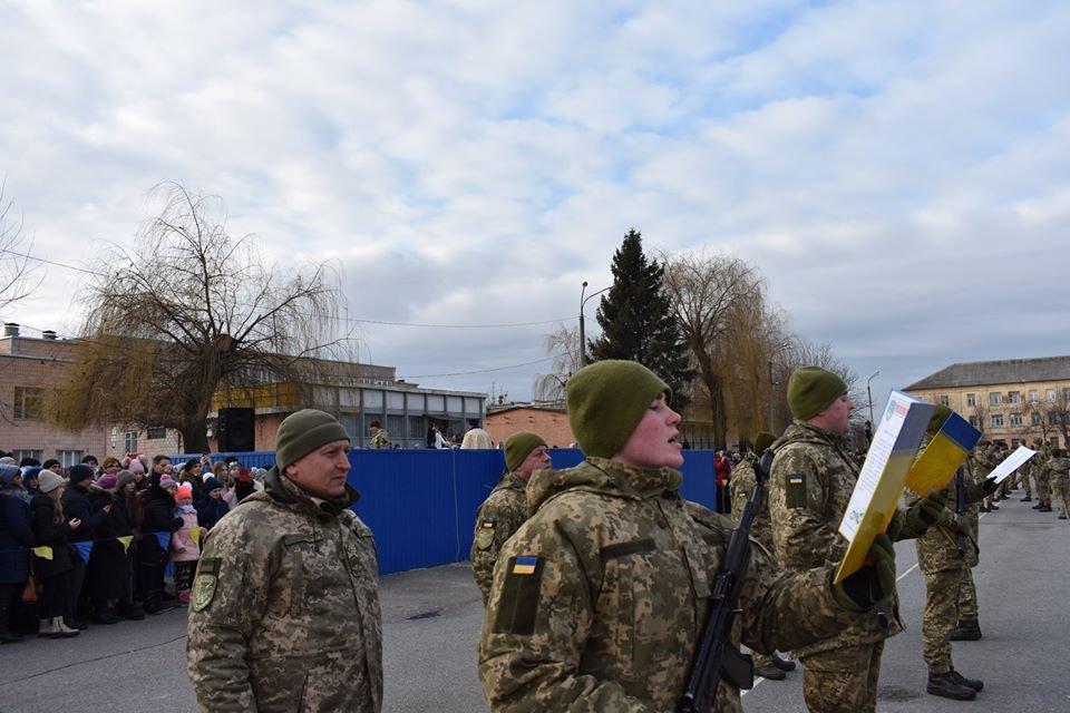 230 курсантів на Київщині присягнули на вірність Українському народові
