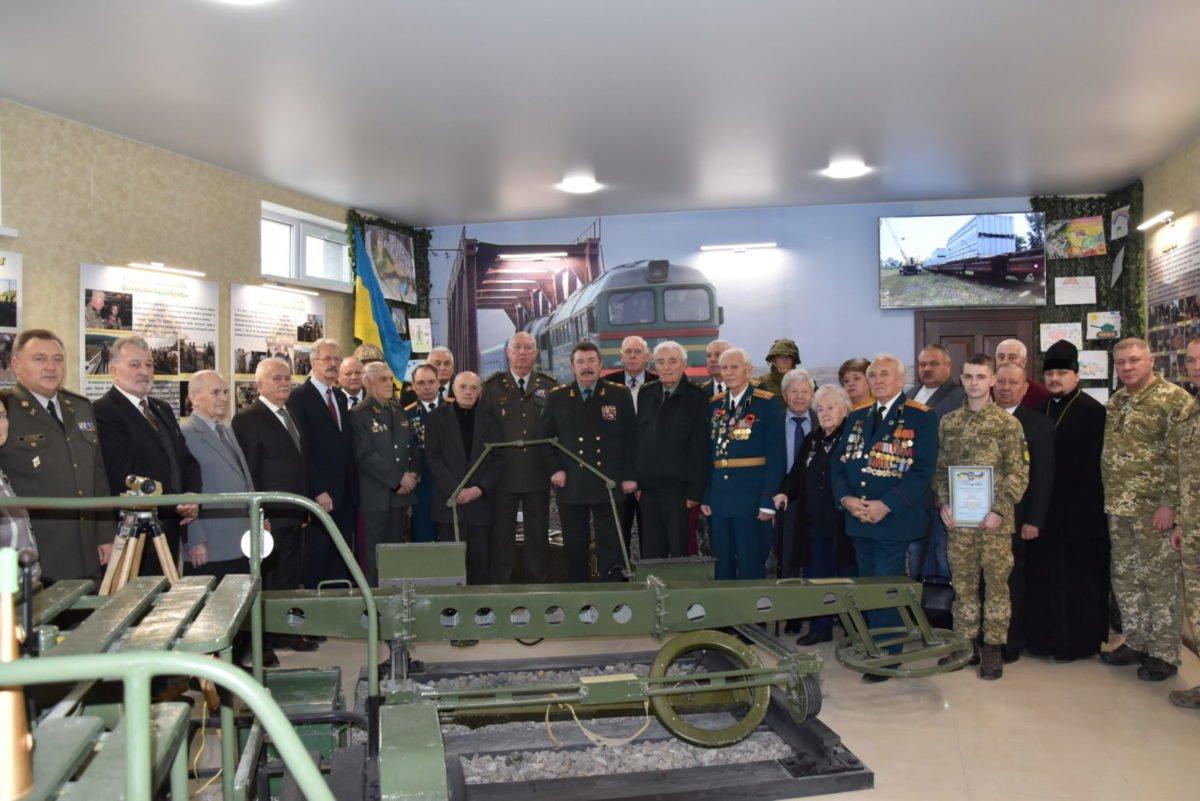 У Державній спецслужбі транспорту відкрили музей Залізничних військ