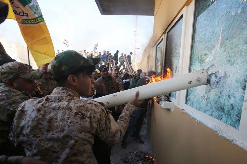 Додаткові американські війська терміново спрямовують в Ірак через напад на дипломатів