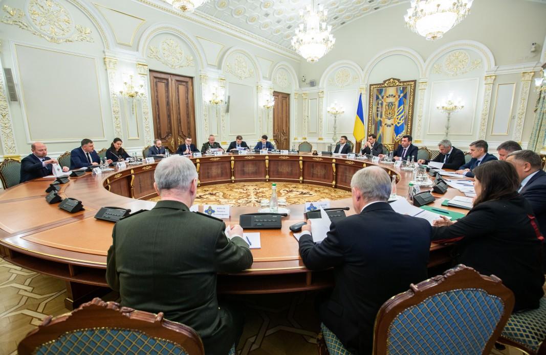 РНБО розглянула проект Стратегії національної безпеки України