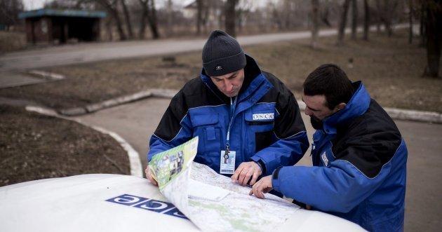 П'ятий день поспіль окупанти обмежують доступ Місії ОБСЄ на окупований Донбас