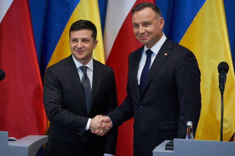 Заява президентів: «Україна та Польща з відкритим серцем рухаються у майбутнє»