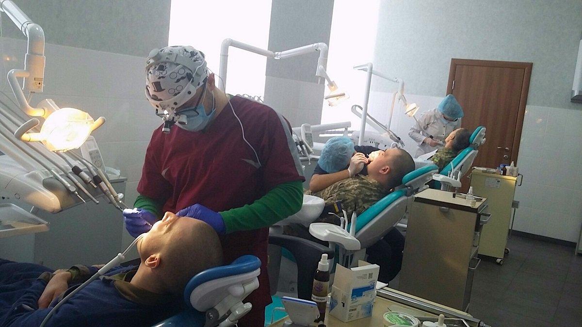 Цьогоріч у Дніпрі виділили 2 млн грн на стоматологічне обслуговування захисників України