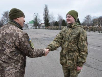 Майже 40% нових випускників полтавського навчального центру вже воювали