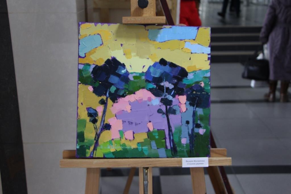 Картини, привезені з фронтового пленеру