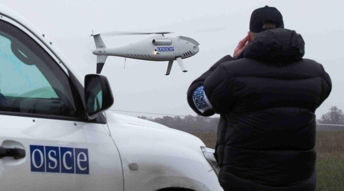 Безпілотник ОБСЄ зафіксував, як бойовики будують нові бліндажі й заселяються у цивільні будинки