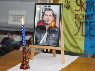 У Вінниці відкрилася виставка робіт Героя Небесної Сотні, Героя України Валерія Брезденюка