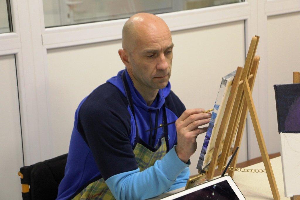 Картини воїнів АТО в Португалії принесли їхнім авторам 2500 євро