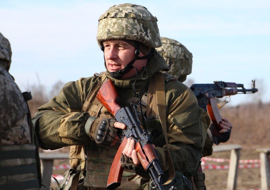 На Рівненщині військові навчаються штурмувати та утримувати kill house