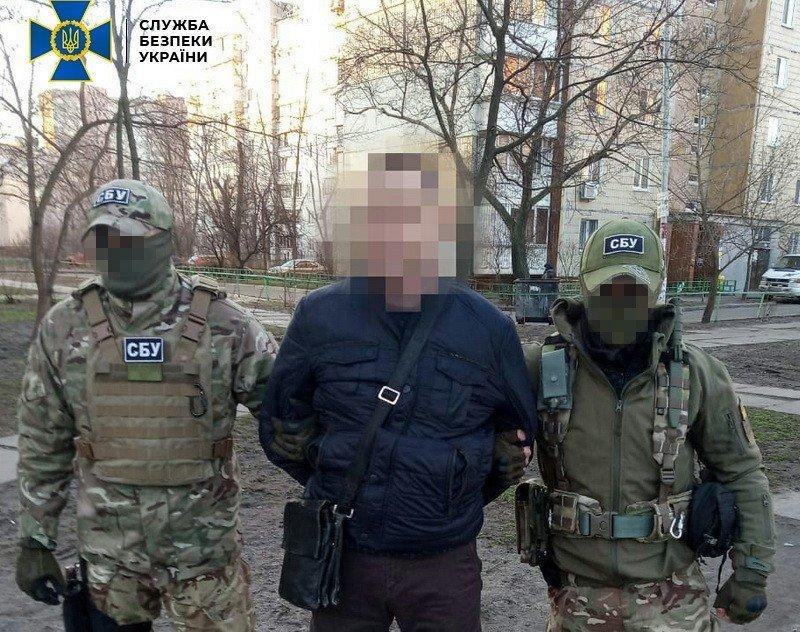 СБУ затримала агента незаконних збройних формувань, який шпигував за українськими військовими