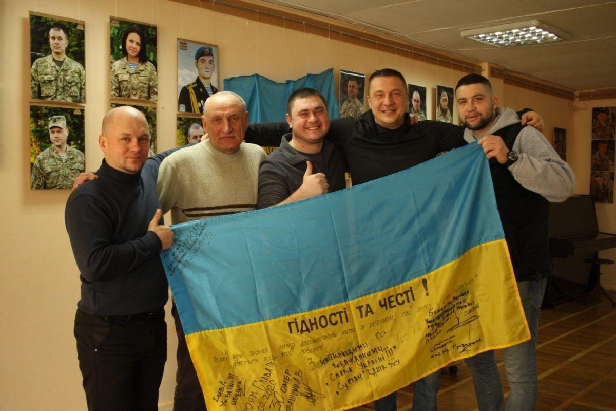 У Житомирі відкрили фотовиставку портретів українських військових «Погляд АТО – 1000 облич»