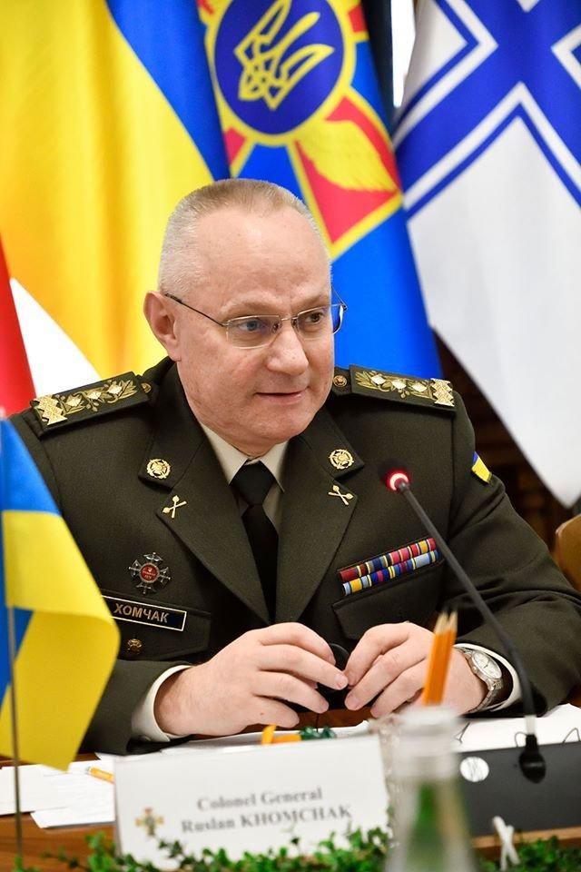 Начальник Генерального штабу Збройних Сил України провів зустріч з командувачем Збройних сил США в Європі