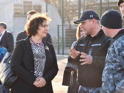 Посол Великої Британії в Одесі ознайомилася із перспективами розвитку національного флоту