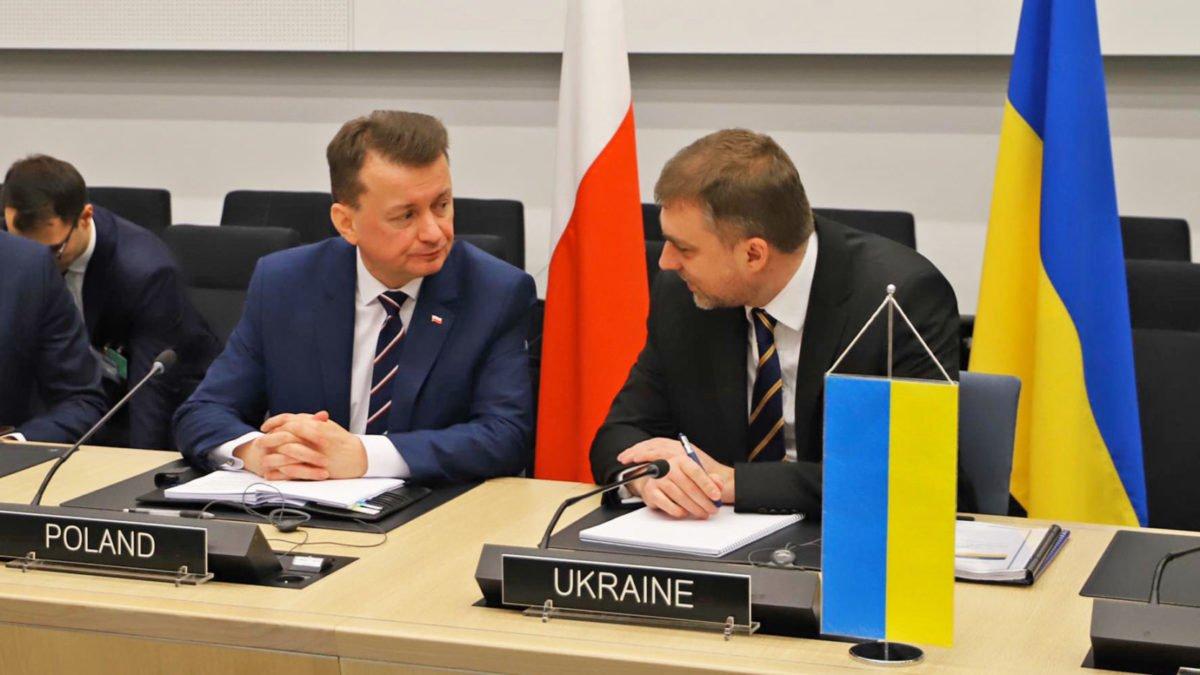 У Брюсселі Міністр оборони України провів зустріч з Міністром національної оборони Польщі