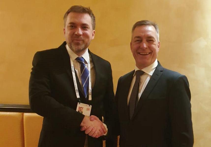 Міністр оборони України провів зустріч з Міністром оборони Королівства Норвегія