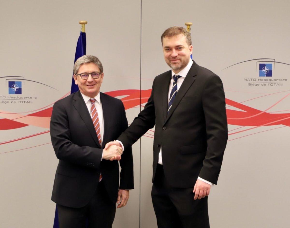 Україна продовжить тісну співпрацю з Агенцією НАТО з підтримки та постачання