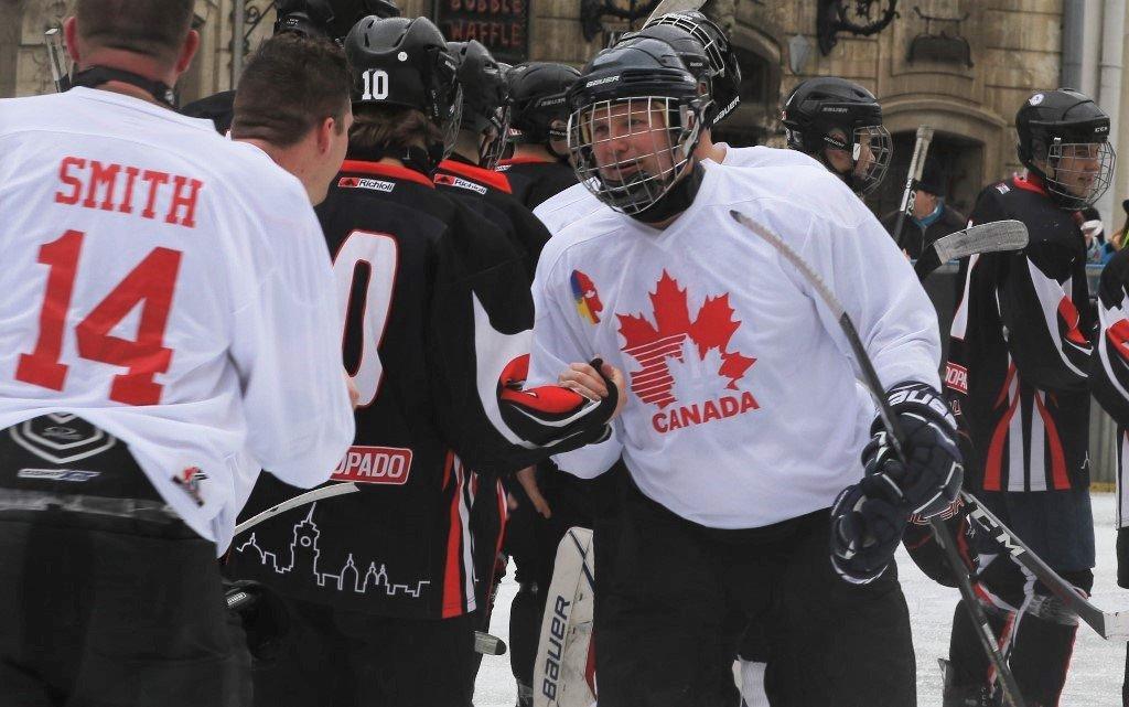 7:6 на користь України: «Галицькі леви» зійшлися у хокейному «батлі» з канадськими військовими