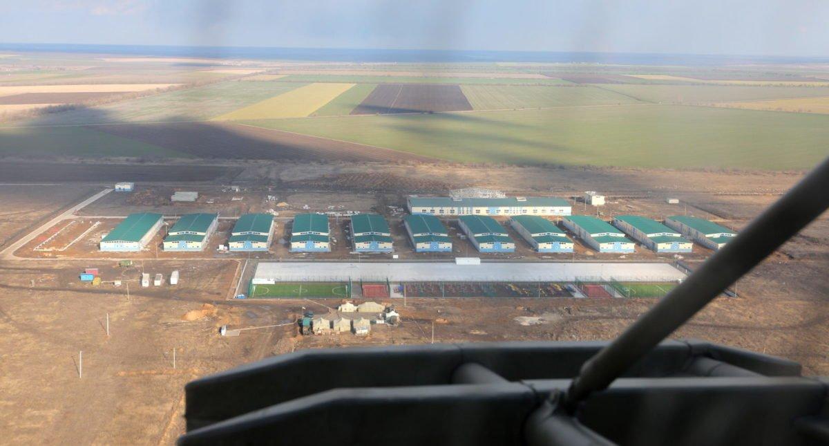 Міністр оборони доручив провести необхідні роботи для своєчасного завершення будівництва на полігоні «Широкий Лан»